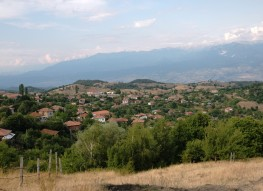 Plot of land with great view near Sandanski