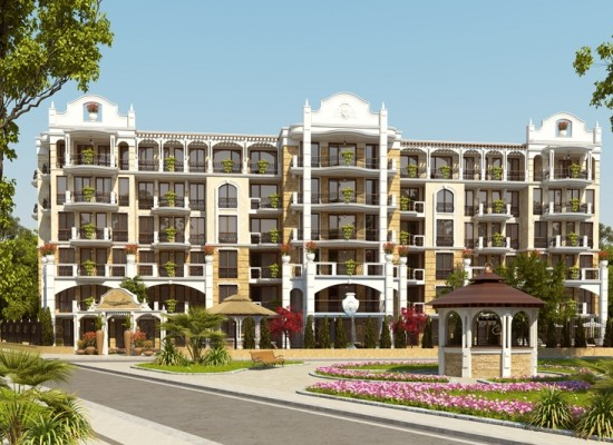 luxe complex in Sunny Beach, Bulgarije