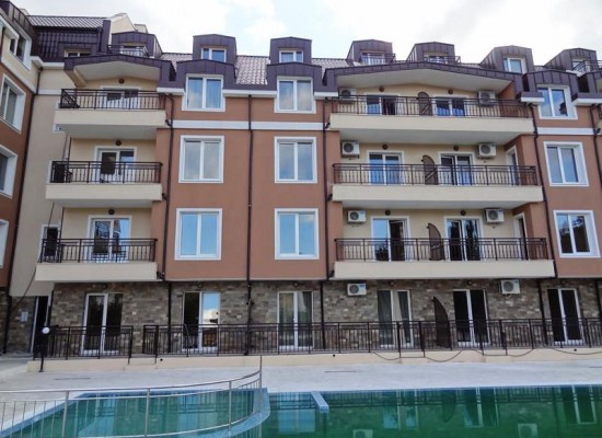 Apartments on Sunny beach, near mountains and sea coast