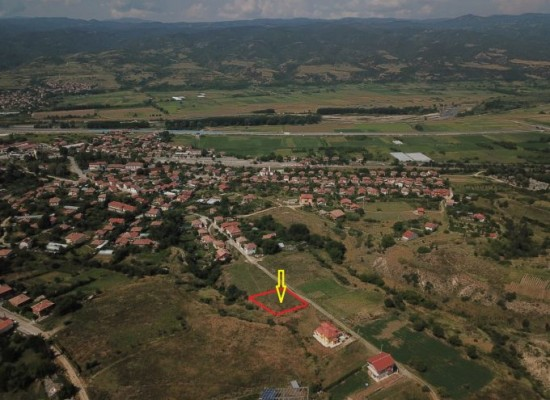 Building land for sale in Strumyani. Sandanski