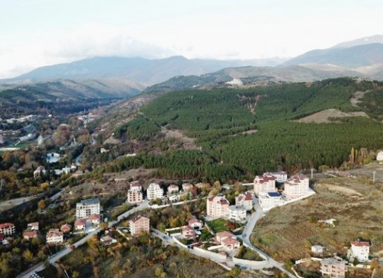 Baugrundstück mit toller Aussicht in Sandanski