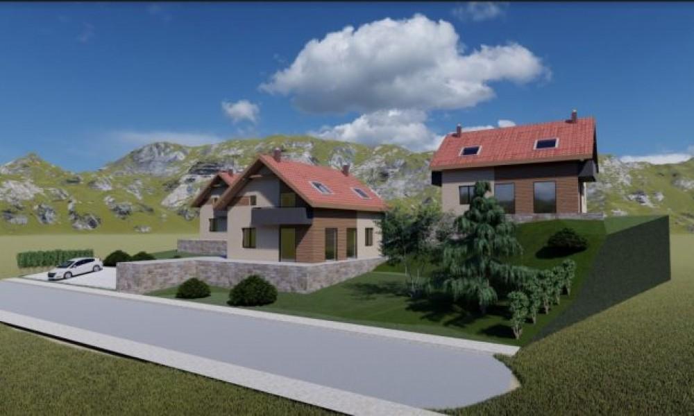 Новостроящи се къщи в с.Джигурово