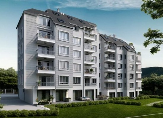Two-bedroom apartment in a luxury building in the park area of Sandanski